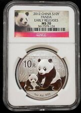 2012 CHINA PANDA ~ NGC MS70 ~ EARLY RELEASES ~ FREE SHIPPING