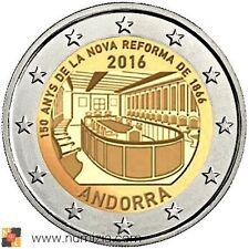 PRE-VENTA ANDORRA 2 Euro 2016 - 150 Años de la Nueva Reforma de 1866 (S/C)