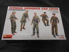MINIART 35072 1/35 GERMAN ARMORED CAR CREW PLASTIC FIGURE KIT