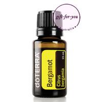 NEW doTERRA Bergamot 15ml Therapeutic Grade Pure Essential Oil Aromatherapy