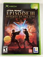 Star Wars Episode III Revenge of the Sith (Microsoft Xbox)COMPLETE CIB