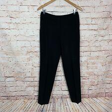 St. John Black Career Pants Womens Size 4