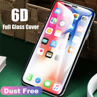 6D Curved Screen Protector For iPhone 10/XR XS MAX Full Coverage Tempered Glass