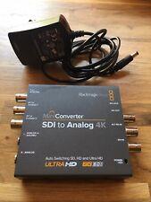 Blackmagic Design, Mini Converter SDI to Analog 4k