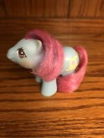 Vintage My Little Pony Newborn Baby Shaggy Teddy Bear Toy 1980s 1987 China