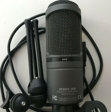 Audio-Technica AT2020USB+ Condenser USB Microphone with Boom Arm