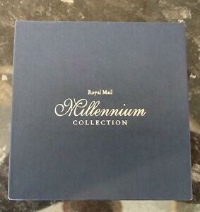 Royal Mail Millennium Collection Mini Books In Display Slip Folder.