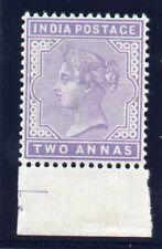 India 1902 QV 2a mauve superb MNH. SG 117.