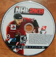 NHL 2K8 (Sony PlayStation 3, 2007) Disc Only - Used