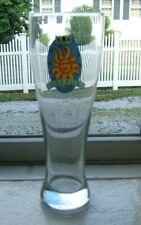 "Beer Glass Bell's Oberon Ale Sun Symbol Pilsner Glass 9"" Tall"