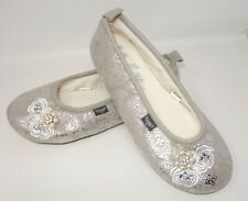 Pretty You Boutique London DEVON Slippers WOMENS Size M (US 6.5-7.5)  rhinestone