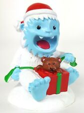 Yeti Surprise Aquarium Fish Tank Christmas Figurine Abominable Snowman Top Fin