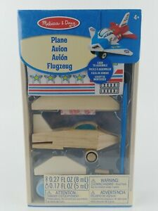 """Melissa & Doug Decorate Your Own 4"""" Wooden Plane Craft Kit"""
