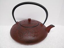 Joyce Chen Dragon Tea Pot Cast Iron - Year of the Dragon - Red