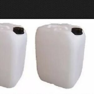1 X25l Litre Plastic Water Storage Container Food Petrol Can Fuel Jerry 25l USED