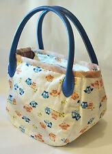 Qteen Handmade Cute Mini Hoot Owl Owly Slouch Bag Hobo Purse Women Handbag Gift