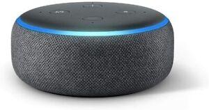 Echo Dot Enceinte Connectée Alexa Avec Bluetooth Tissu Anthracite 3e Génération