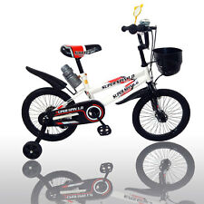 "New 16"" Children Boys Kids Bike Bicycle With Training Wheels Steel Frame"