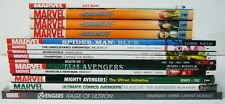 Lot of (15) Marvel TPBs - avengers - spider-man blue - runaways - (value: $240)
