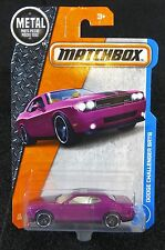 2017 Matchbox  Dodge Challenger SRT8   Card #21  Multiples Available      MB-5