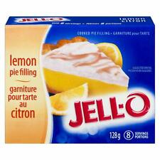 Jell-O Cooked Pudding & Pie Filling, Lemon, 128g (Pack of 24)