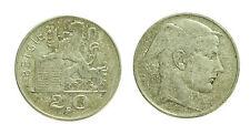 pcc1578_59) BELGIO BELGIE 20 FRANCS 1951 SILVER AG