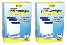 x6 Tetra Whisper FILTER CARTRIDGES L LARGE for External & In-Tank Power Filters