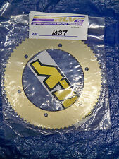 RLV #219 Gold one piece axle sprocket P/N 1037 75 tooth