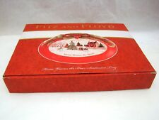 "Fitz & Floyd Home Warms The Heart Sentiment Tray 10"" x 7 1/4"" New Nib Sealed"