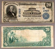 Sioux IA $20 1902 PB National Bank Note Ch #1757 First NB VF