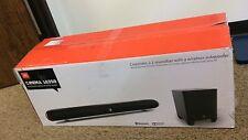 JBL Cinema SB250 Home Cinema 2.1 Soundbar with Wireless Subwoofer