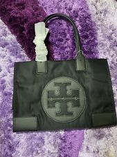 Authentic TORY BURCH ELLA MINI TOTE - BLACK