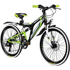 Mountainbike Fully 24 Zoll MTB Full Suspension Galano Adrenalin DS Jugendfahrrad