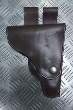 Genuine Eastern Bloc Brown Military / Police Makarov Holster Drop-Loop PGAS04