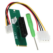 P88 NGFF M.2 M Schlüssel Stecker auf 4x PCI-E Buchse Adapter Netzkabel Konverter