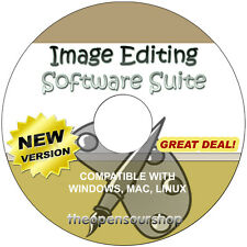 Image Editing Software Suite CD - A Full Suite of Image Creation & Editing