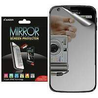 AMZER Mirror Screen Protector with Cleaning Cloth for Motorola ATRIX 4G MB860