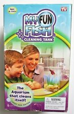 My Fun Fish Self Cleaning Aquarium Tank New in Open Box - Complete - Ages 8-100+