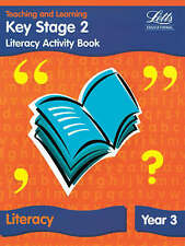 Good, KS2 Literacy Activity Book: Year 3 (Letts Primary Activity Books for Schoo