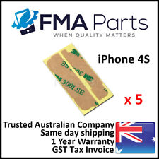 5 x iPhone 4S 3M Adhesive Tape Double Sided Digitizer LCD Touch Screen Glue