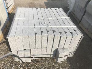 Granit Bergama Grey Randsteine 100x25x8cm geschnitten