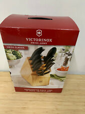 Victorinox Swiss Classic 22 Piece Cutlery Knife Block Set *New*