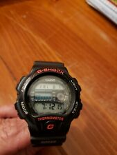 1992 Vintage Casio G-SHOCK DW-6100 (1414) Thermometer 45mm watch - New Battery