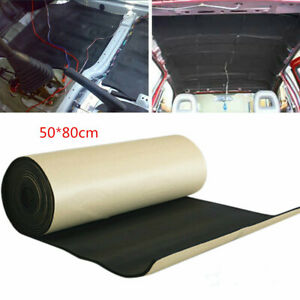 Car Soundproofing Sound Deadening Underlay 50*80cm Waterproof Flame Retardant