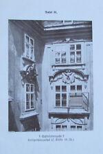 Schönlaterngasse Heiligenkreuzerhof - Druck nach Photographie Wien 1924 31