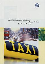Prospekt VW Passat Sharan Taxi 5/02 2002 Autoprospekt Broschüre Auto PKW brochur