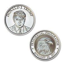 ****NEW 2017***** Donald Trump 1 oz .999 PURE silver Inauguration coin