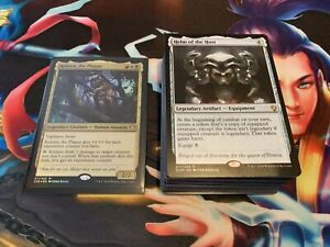 Mtg Full EDH Deck - Kelsien the Plague Voltron Control - Lots of Rares/Mythics