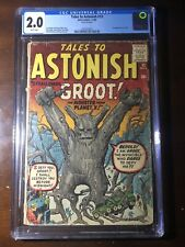 Tales to Astonish #13 (1960) - 1st Groot! - CGC 2.0 - Key! - White Pages!