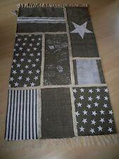 Impressionen LIVING Teppich Patchwork Design 100%Baummwolle 90 x 173 cm .